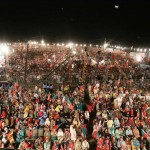 Overwhelming response from people at Parade ground