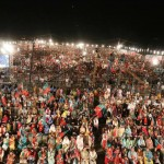 ‎Overwhelming response from people at Parade ground