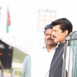 Reached Parade Ground Islamabad for todays historic PTI jalsa