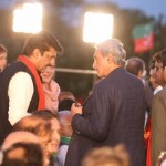This is enormous. Islamabad is all red & green today as chairman PTI Imran Khan to join us at any moment