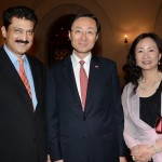 Dr Shahzad Waseem Adviser to Chairman along with H.E Mr. Sun Weidong, Ambassador of China and his spouse.