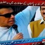 Chairman-PTI-ImranKhan-responding-to-threats-of-police-action-on-peaceful-protesters-women-children.-AzadiSquare-GoNawazGo-—-at-Azadi-square
