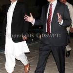 Chairman PTI Imran Khan and PTI Leader/Former Senator Dr Shahzad Waseem at reception at residence of Dr Shahzad Waseem. — with Imran Khan (official).
