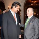 Adviser to Chairman PTI Dr Shahzad Waseem along with Argentinian Ambassador H.E Mr. Rodolfo J. Martin Saravia.