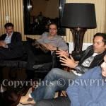 Dr Shahzad Waseem Advisor to The Chairman Pakistan Tehreek-e-Insaf with media personalities.
