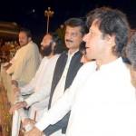 Dr Shahzad Waseem At Azadi Square with Imran Khan - Azadi March