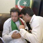 Dr Shahzad Waseem in a meeting with Imran Khan