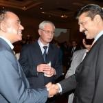 Senior leader PTI Dr Shahzad Waseem along with H. E Mr. Adel Elarbi, Ambassador of Tunisia to Pakistan