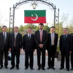 Dr Shahzad Waseem Adviser to #PTI Chairman Imran Khan in a group photo with #CPC #China delegation.