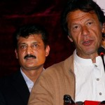 Chairman PTI Imran Khan speaking at dinner hosted by Dr Shahzad Waseem in honor of PFUJ delegates.