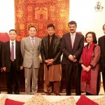 Group photo of both delegations from Pakistan Tehreek-e-Insaf and CPC #China.