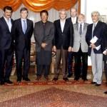 EU Ambassadors meeting with Chairman PTI Imran Khan