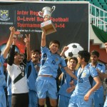 Winning celebrations of Central Region players of #BSS. — at Pakistan Sports Complex.