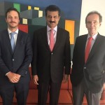 Ambassador of Argentine Mr. Ivan Ivanissevich and DHM Mr. Guido Maiulini hosted lunch in honour of PTI Central Secretary for Foreign Affairs Dr Shahzad Waseem at Argentinian ambassador residence.
