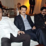 Dr Shahzad waseem at Launch ceremony of Scholarship fund for NAMAL College at Imran Khan residence.