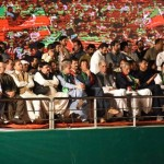 A hostoric PTI jalsa at Parade Ground Islamabad today.