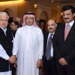 Adviser to Chairman #PTI Dr Shahzad Waseem along with Saudi Ambassador H.E Mr. Abdullah M. Al Zahrani and Mr. Aftab Ahmad Sherpao.