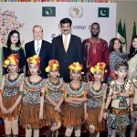 African Day celebrated in Islamabad today. Excellent performance by kids enthralled audience. PTI