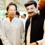 At Iftar dinner hosted by Chairman PTI Imran Khan at his res in Bani Gala