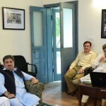 """At meeting of """"Zamong Kor"""" presided by Chairman PTI Imran Khan. This project is to provide state patronage to orphan & street children."""