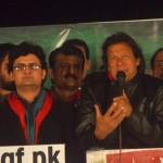 Dr Shahzad Waseem at Azadi Dharna 10th Dec 2014