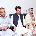 Chairman Imran khan presiding meeting of PTI central punjab leadership