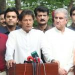 Chairman PTI Imran Khan Media Talk at Bani Gala.