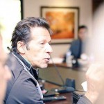 Dr Shahzad Waseem in A meeting at Bani Gala