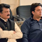 Chairman PTI Imran Khan presiding an important meeting at Bani gala.