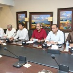 Chairman PTI Imran Khan presiding consultative meeting of party leaders at Bani Gala.