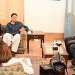 Chairman PTI Imran Khan presiding important meeting at bani gala regarding 2nd Nov.
