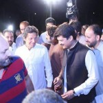 Chairman PTI Imran Khan visited parade ground to monitor preparations of PTI jalsa on Friday