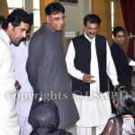 Dr Shahzad Waseem & Asad Umar's Visit to Polling Stations on By-Elections Aug 22, 2013