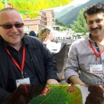 Dr Shahzad Waseem with Mr. Suljo Mustafic, Vice President Montenegro Parliament.
