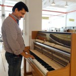 Dr Shahzad Waseem visited Beltmann piano factory which is one of the top Piano manufacturers of Azerbaijan. — at Gabala, Shaki, Azerbaijan.