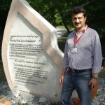 Dr Shahzad Waseem visits archaeological Sites of Azerbaijan. Ancient graves (2 AD) and pottery seen during his visit to archaeological site of Gabala