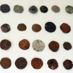 Copper coins of 8th century.