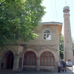 Dr Shahzad Waseem visited Shaki Mosque, Djuma Mosque (Khan's mosque) was constructed in 1745-1750, near the market square.