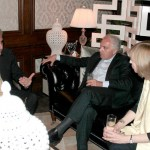 Lars- Hjalmar Wide (The Ambassador of Sweden), Adriano Chiodi Cianfarani (The Ambassador of Italy) & Alison Blake (Deputy High Commissioner of The British High Commision)
