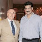 His Excellency Rodolfo J. Martin Sarvia (The Ambassador of Argentina) & Dr Shahzad Waseem.