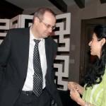 Stephane Roken (Deputy Head of Commission of Germany) & Ms Anila Khawaja.