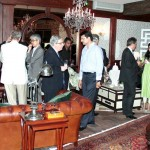 Guests at Dr Shahzad Waseem Dinner to welcome new Ambassadors.