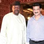 G. G. F. Grema (Head of Chancery Nigeria) & Dr Shahzad Waseem.