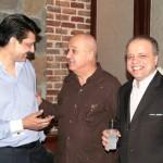 Dr Shahzad Waseem, Jesus Zenen Buergo Concepcion (The Ambassador of CUBA) & Mourad Bourehla (The Ambassador of Tunisia).