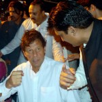 Dr Shahzad Waseem in discussion with Chief guest PTI Chairman Imran Khan at Iftar Dinner hosted by Dr Shahzad Waseem.
