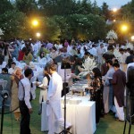 Guests at Iftar Dinner hosted by Dr Shahzad Waseem