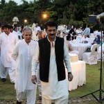 Makhdoom Javed Hashmi along with Dr Shahzad Waseem at Iftar Dinner hosted by Dr Shahzad Waseem.