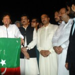 Chief guest Chairman PTI, Imran Khan along with PTI Candidate NA48 Islamabad Asad Umer. Dr Shahzad Waseem, Ch Ilyas Mehrban and Sajid Malik, expressing views at Iftar Dinner hosted by Dr Shahzad Waseem.