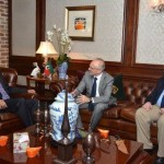 Dr Shahzad Waseem in a meeting with delegation of US Embassy