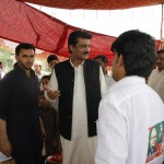 Dr Shahzad Waseem Visits the Polling Agents of PTI